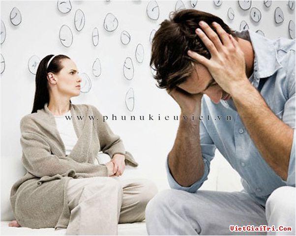 Hôn nhân dễ tan vỡ khi người vợ ốm