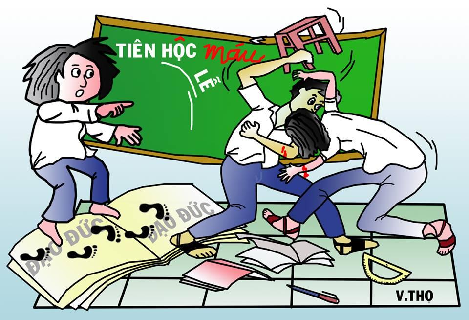 Giúp con không bị bắt nạt ở trường