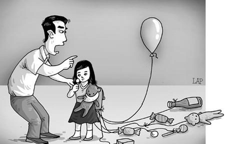 những tác hại khi cho con nhiều tiền _ theo tuvantamly.com.vn