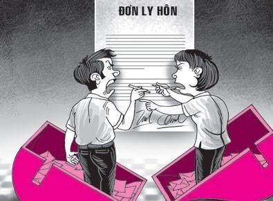 Tình trạng ly hôn ở giới trẻ đang gia tăng