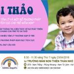 Thư mời tham gia hội thảo về sự phát triển tâm lý trẻ em