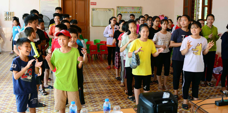 Chương trình đào tạo về Sức khỏe sinh sản và Tình dục an toàn tại làng trẻ SOS Hải Phòng