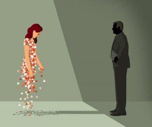 Bộ tranh khắc họa góc khuất trong hôn nhân và nỗi đau người ở lại